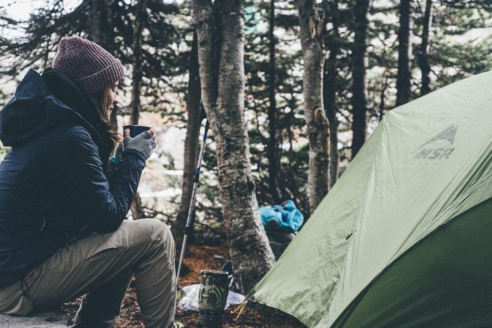 Camping in Schwedens Natur